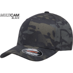 Кепка FlexFit Wooly MULTICAM Black