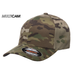 Кепка FlexFit Wooly MULTICAM
