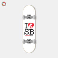 "Cкейтборд в сборе Footwork I Love Sb 8"" X 31.5"""