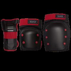 Комплект защиты Los Raketos COMBI LRK-006 Red/Black