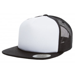 Кепка FlexFit Trucker Black/White/Black
