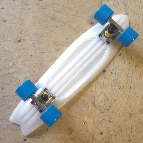 Круизёр Virage Skateboards white 22""
